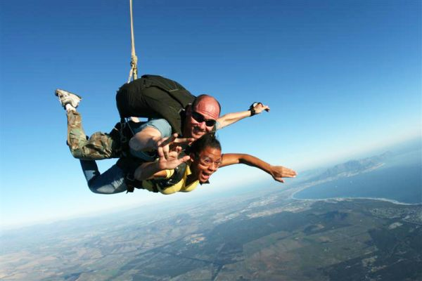 Who is Skydive Cape Town?